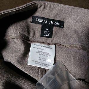 New Women's Tribal Studio Taupe Colored Slacks 8P